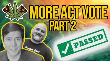 MORE Act Passes - House of Reps Vote to Legalize Cannabis | Breaking Cannabis News | Federal News