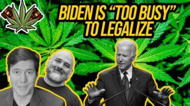 Biden Is TOO BUSY To Legalize Marijuana, Harris Says