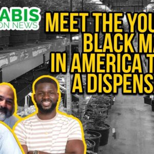 Black Owned Cannabis Businesses - Elev8 Founder Seun Adedeji
