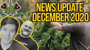 Federal Cannabis Legalization News - December 2020 - Cannabis News Roundup