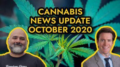 Federal Cannabis Legalization News - October 2020 - Cannabis News Roundup