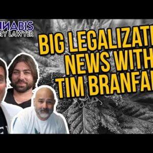 Ganjapreneur Podcast Host Tim Branfalt