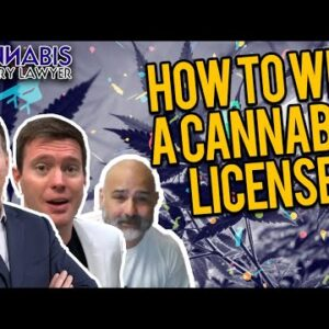 How to Win a Cannabis License - Jay Czarkowski from Canna Advisors