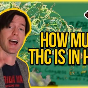How much THC is in Hemp? THC Levels in Hemp Explained - Why 1% is better than 0.3% THC Hemp