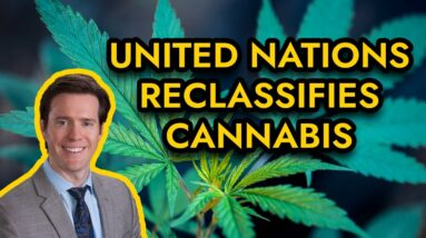 UN Reclassifies Cannabis - No Longer Schedule IV Drug |1961 Single Convention on Narcotic Drugs