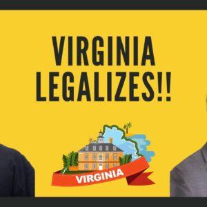 Virginia Legalizes Marijuana | Marijuana will be legal in Virginia after historic vote