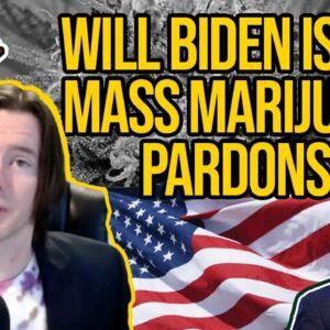 37 Members Of Congress Ask Biden To Issue Mass Marijuana Pardons Ahead Of Legalization