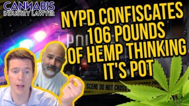 NYPD Confiscates 106lbs of Hemp Thinking It's Pot