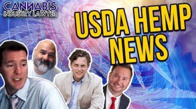 USDA Hemp News - Hemp Lawyer Rod Kight - Cannabis Lawyer Jeff Hall