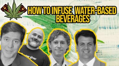 Water-Compatible Cannabis Extracts for Cannabis Beverages