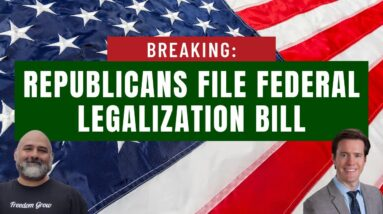 Federal Legalization Bill Filed By Republican Lawmakers