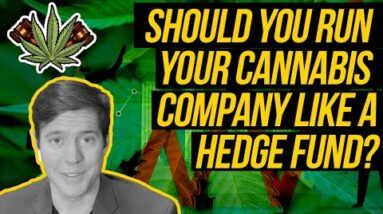 Should You Run Your Cannabis Company Like a Hedge Fund?