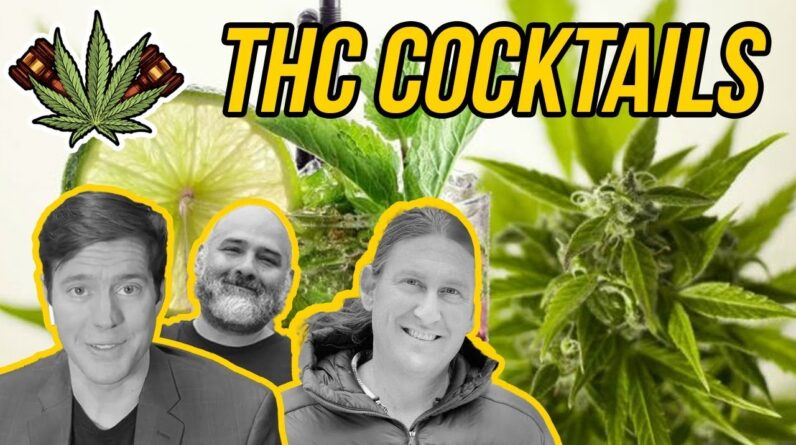 THC Cocktails | Tasting the World's First THC Spirit
