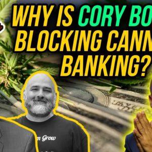 Cory Booker Threatens To Block Cannabis Banking Bills