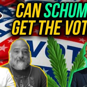 Here's Schumer's Strategy for Passing Federal Marijuana Legalization