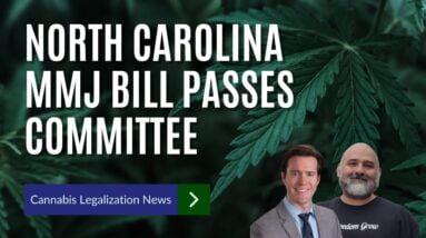 North Carolina Senators Approve Medical Marijuana Legalization Bill In Committee