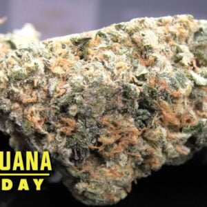 Mint Cream Cake Marijuana Monday