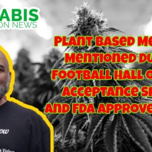 Plant Based Medicine Mentioned in NFL Accceptance Speech and Why FDA?