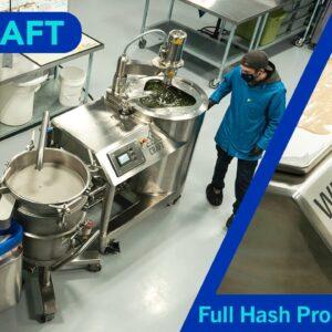 WT-CRAFT Hash Production Run: Whistler Technologies x The Verdant Leaf